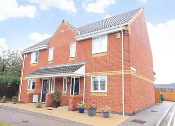 Thumbnail 3 bed semi-detached house for sale in Saxon Heights, Brixworth, Northampton