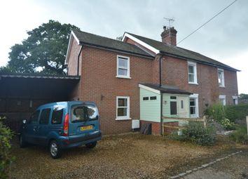 Thumbnail 3 bed semi-detached house to rent in Sandleheath, Fordingbridge