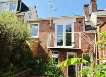 Thumbnail 1 bed terraced house to rent in Topsham Road, St Leonards, Exeter