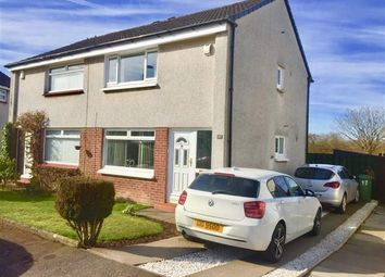Thumbnail 2 bed semi-detached house for sale in Cowal Crescent, Kirkintilloch, Glasgow