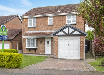 Thumbnail 4 bed detached house for sale in Wainfleet Close, Ilkeston