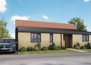 Thumbnail 2 bed detached bungalow for sale in Ash Place, Berry Close, Stretham, Ely