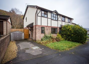 Thumbnail 3 bed semi-detached house for sale in Glan Y Ffordd, Taffs Well, Cardiff