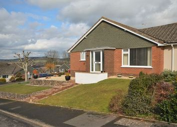 Thumbnail 3 bed semi-detached bungalow for sale in Crowden Crescent, Tiverton