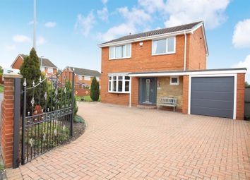 Thumbnail 4 bed detached house for sale in Keble Garth, Kippax, Leeds