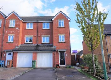 Thumbnail 4 bed town house for sale in Drum Tower View, Caerphilly