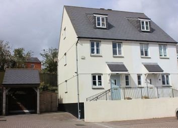 Thumbnail 3 bed town house for sale in Lovering Road, St. Austell