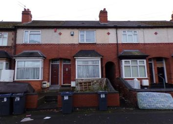 Thumbnail 3 bed terraced house for sale in Oscott Road, Perry Barr, Birmingham, West Midlands