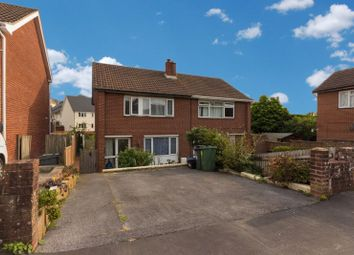 Thumbnail 4 bed semi-detached house for sale in Moor View, Chudleigh, Newton Abbot