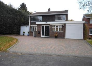 Thumbnail 4 bedroom detached house to rent in Leandor Drive, Streetly, Sutton Coldfield