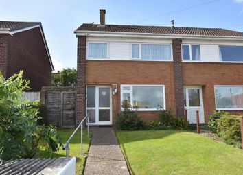 Thumbnail 3 bed semi-detached house for sale in Abbots Drive, Bideford