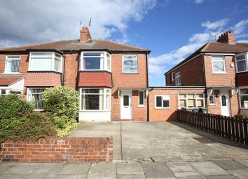 Thumbnail 3 bed semi-detached house for sale in Seacrest Avenue, North Shields