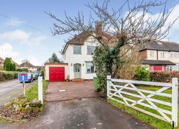 Thumbnail 3 bed semi-detached house for sale in Sawpit Lane, Brocton, Stafford, Staffordshire