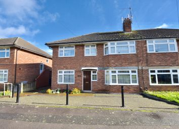 Thumbnail 2 bed flat for sale in Athelstan Road, Kettering