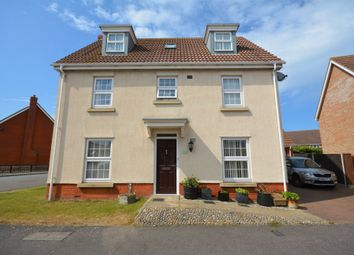 Thumbnail 6 bed detached house for sale in Townsend Way, Lowestoft