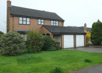 Thumbnail 4 bed detached house for sale in Bramley Close, Ledbury