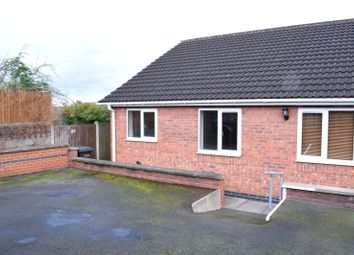 Thumbnail 1 bed semi-detached bungalow for sale in Mount Pleasant, Ilkeston, Derbyshire