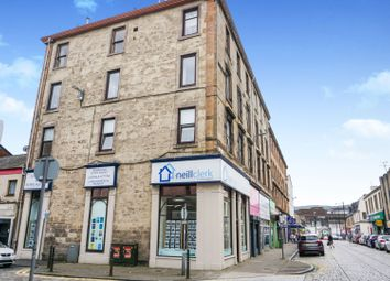 Thumbnail 1 bed flat for sale in Laird Street, Greenock