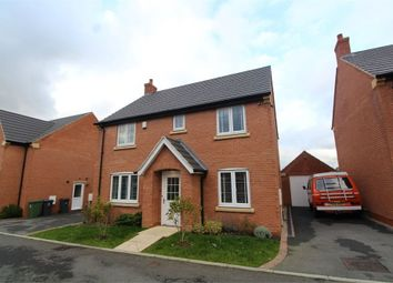 Thumbnail 4 bed detached house for sale in Buttercup Close, Lutterworth