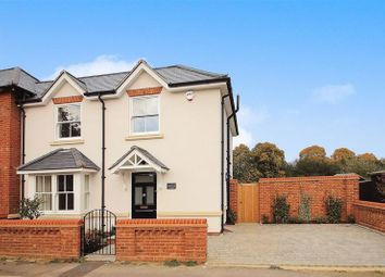 Thumbnail 3 bed semi-detached house for sale in Newark Lane, Ripley, Woking