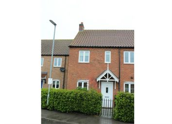 Thumbnail 2 bed end terrace house for sale in Thomas Kitching Way, Bardney, Lincoln