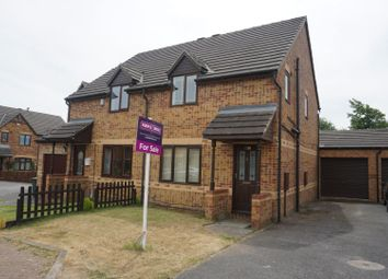 Thumbnail 3 bed semi-detached house for sale in Maidwell Way, Bradford