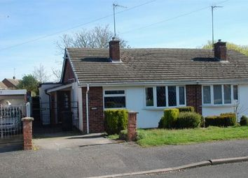 Thumbnail 2 bed semi-detached bungalow for sale in Meadow Close, Duston, Northampton