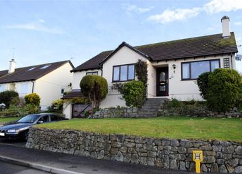 Thumbnail 4 bedroom detached bungalow for sale in Tregarrick Close, Helston, Cornwall