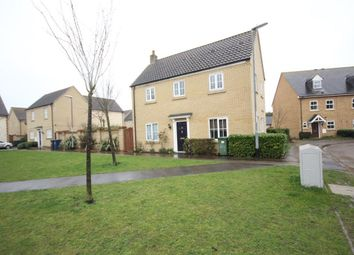 Thumbnail 3 bed detached house to rent in Roman Way, Godmanchester, Huntingdon