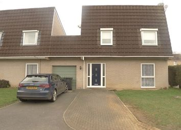 Thumbnail 4 bed detached house to rent in Muskham, Bretton, Peterborough, Cambridgeshire.
