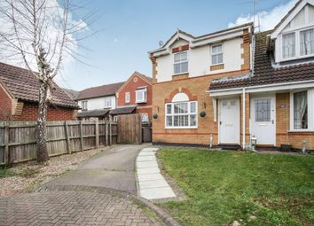 Thumbnail 3 bed end terrace house for sale in Lambourn Drive, Luton