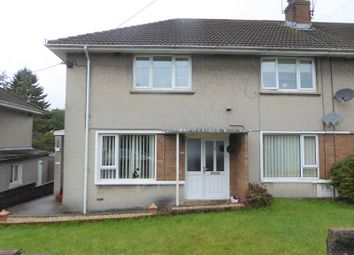 Thumbnail 2 bed flat for sale in Onslow Terrace, Brynmenyn, Bridgend, Bridgend.