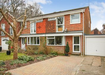Thumbnail 3 bed semi-detached house for sale in 5 Hazel Close, Crawley Down, West Sussex