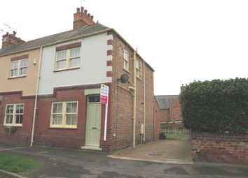 Thumbnail 2 bed end terrace house for sale in School Walk, Bawtry, Doncaster