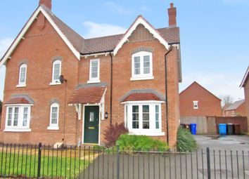 Thumbnail 3 bedroom semi-detached house for sale in Speedway Close, Long Eaton, Long Eaton