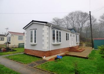 Thumbnail 1 bed mobile/park home for sale in Boars Leigh Park, Bosley, Macclesfield, Cheshire