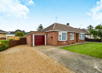 Thumbnail 3 bed detached bungalow for sale in The Chase, Leverington Road, Wisbech