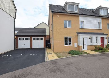 Bowhill Way, Harlow CM20. 3 bed semi-detached house for sale