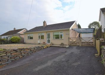 Thumbnail 3 bed detached bungalow for sale in St. Germans Road, Callington