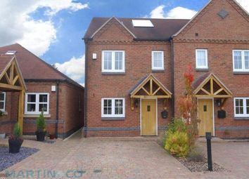 Thumbnail 3 bed property for sale in Brunsleigh Croft, Hathern, Leicestershire