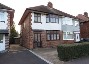 Thumbnail 3 bed semi-detached house for sale in Field Crescent, Alvaston, Derby