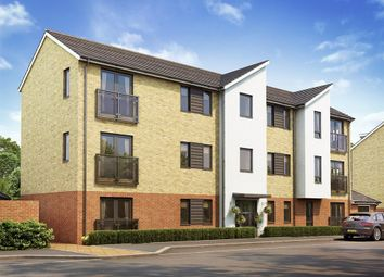 "Thumbnail 1 bed flat for sale in ""Syan House "" at Maldive Road, Basingstoke"