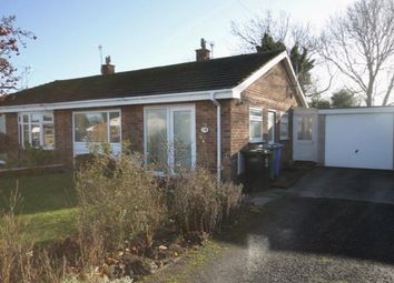 Thumbnail 2 bed semi-detached bungalow for sale in Rosemoor Close, Hunmanby, Filey