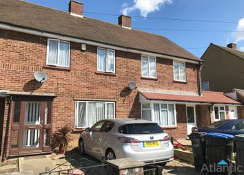 Thumbnail 2 bed terraced house to rent in St Martins Close, Enfield