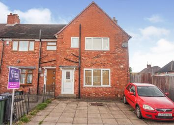3 bed end terrace house for sale in Stanley Road, West Bromwich B71