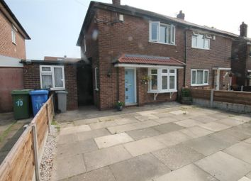 Thumbnail 2 bed semi-detached house to rent in Melton Avenue, Urmston, Manchester
