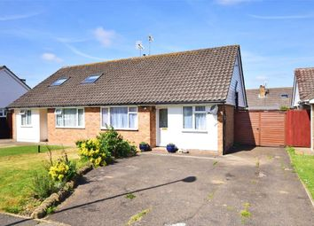 Thumbnail 2 bed semi-detached bungalow for sale in Highdown Drive, Littlehampton, West Sussex