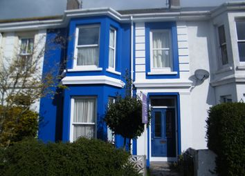 Thumbnail 5 bedroom terraced house to rent in Marlborough Road, Falmouth