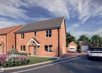 Thumbnail 4 bed detached house for sale in Dawson's Lane, Blofield Heath, Norwich, Norfolk
