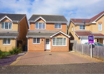 Thumbnail 3 bed detached house for sale in Cholmondeley Way, West Winch, King's Lynn
